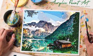 Acrylic Paint Art - PS Action 4027015