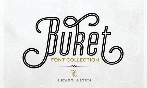 Buket Font Collection -84%off 1231084