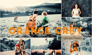 Orange Grey LR Mobile & ACR Presets 4093262