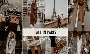 RETRO PARIS BLOGGER LIGHTROOM PRESET 4091738