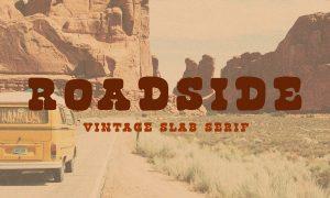 Roadside | Vintage Slab Serif 3532075