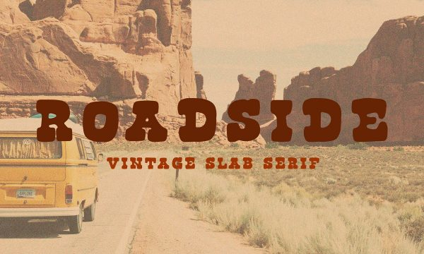 Roadside   Vintage Slab Serif 3532075