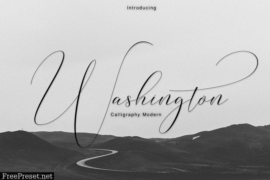 Washington Calligraphy Modern 1491033