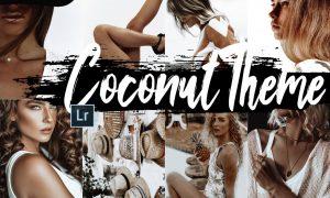 5 Coconut Desktop Lightroom Presets 1840611