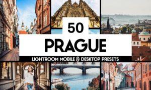 50 Prague Lightroom Presets and LUTs