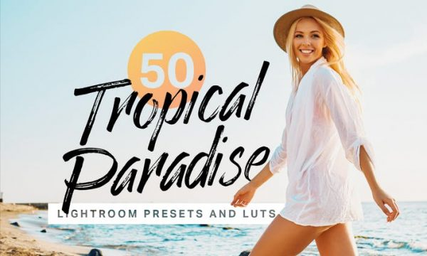 50 Tropical Lightroom Presets and LUTs
