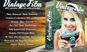 Actions for Photoshop Vintage Film 4414198