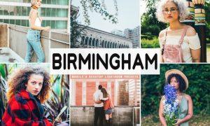 Birmingham Mobile & Desktop Lightroom Presets