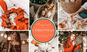 Christmas Mobile Lightroom Presets 4385090