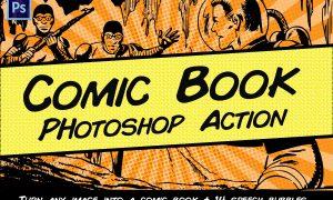 Comic Book Photoshop Action 2296365