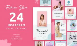 Fashion Store - Instagram Posts & Stories 2UMYK6S