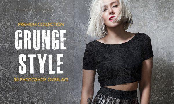 Grunge Style Photoshop Overlays 4366665