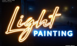 Light Painting - Photoshop Action 25158318