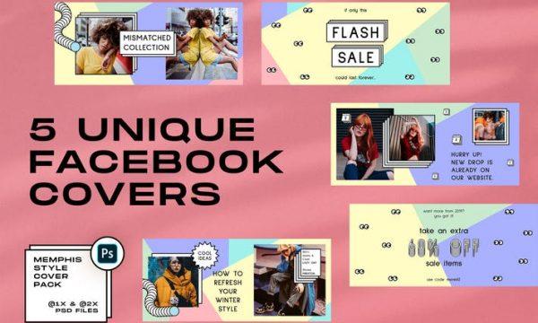 Memphis Facebook Covers SS4LVNK