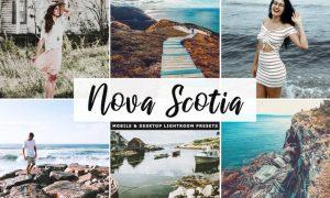 Nova Scotia Mobile & Desktop Lightroom Presets