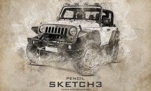 Pencil Sketch 3 Photoshop Action