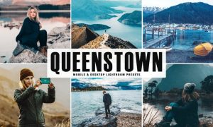 Queenstown Mobile & Desktop Lightroom Presets