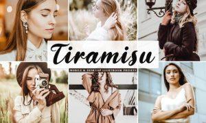 Tiramisu Mobile & Desktop Lightroom Presets