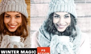 Winter Magic Photoshop Action