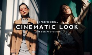 20 Professional Cinematic Look LUTS 4436129