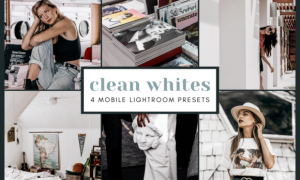4 Mobile Lightroom Presets   Clean White 2651993