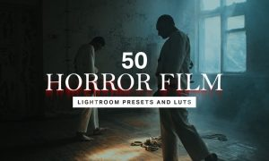 50 Horror Film Lightroom Presets and LUTs