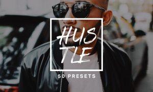 50 Hustle Lightroom Presets and LUTs