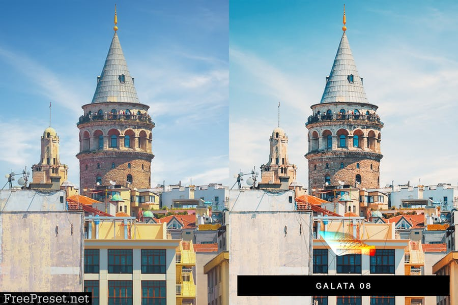 50 Istanbul Travel Lightroom Presets and LUTs