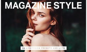 50 Magazine Lightroom Presets & LUTs