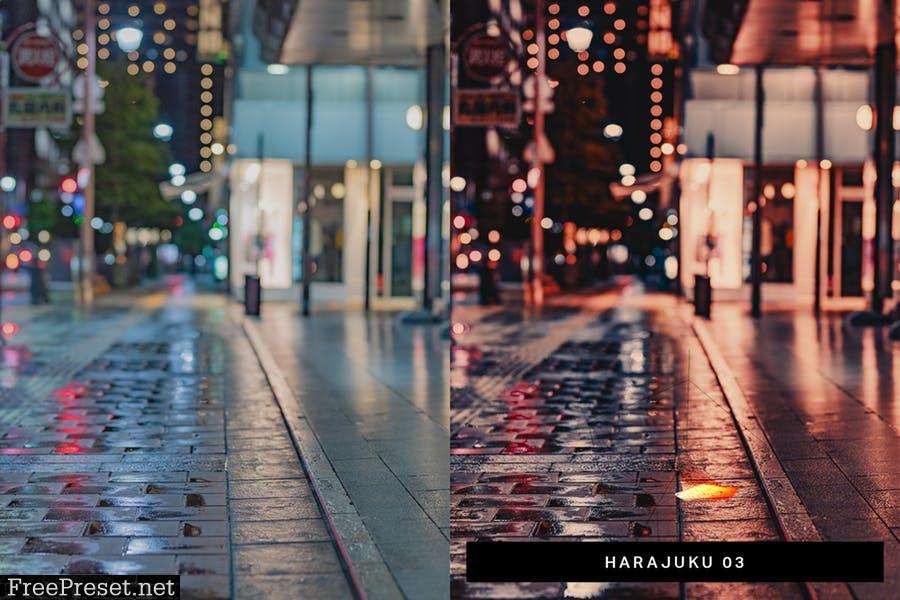 50 Rainy Japan Lightroom Presets