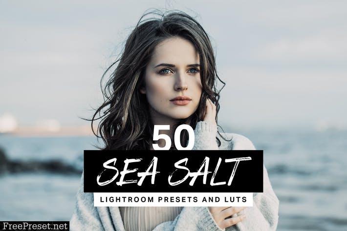 50 Sea Salt Lightroom Presets and LUTs