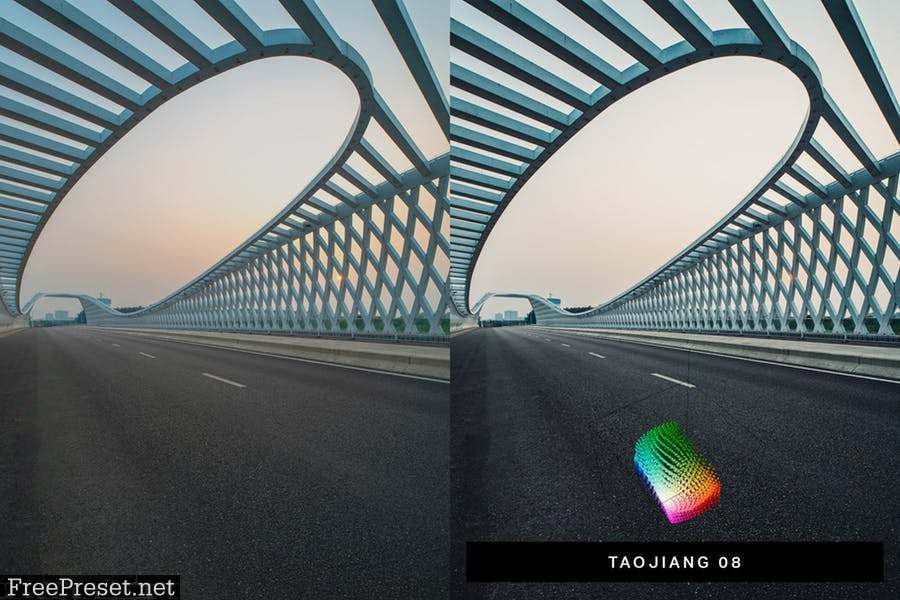 50 Shanghai Lightroom Presets and LUTs