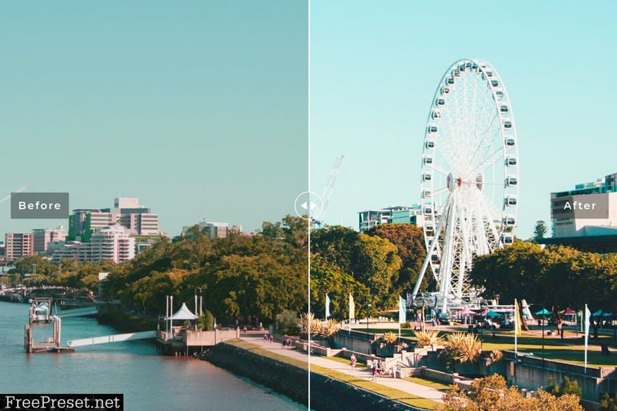 Brisbane Mobile & Desktop Lightroom Presets