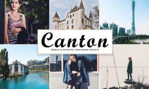 Canton Mobile & Desktop Lightroom Presets