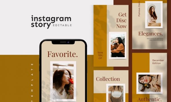 Instagram Story Template 82XR2DB