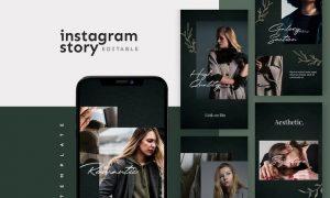 Instagram Story Template L288XT2