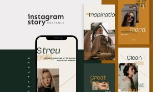 Instagram Story Template T6RZUKR