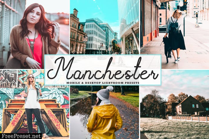 Manchester Mobile & Desktop Lightroom Presets