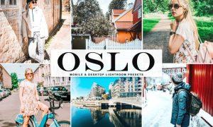 Oslo Mobile & Desktop Lightroom Presets