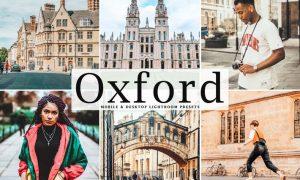 Oxford Mobile & Desktop Lightroom Presets