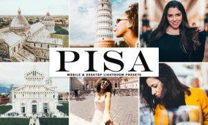 Pisa Mobile & Desktop Lightroom Presets