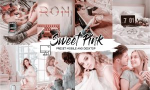 SWEET PINK LIGHTROOM PRESETS 4433553