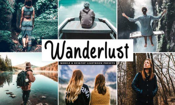 Wanderlust Mobile & Desktop Lightroom Presets