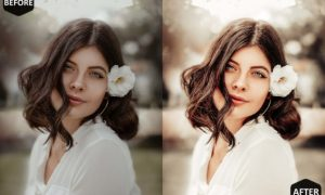 10 Romance Photoshop Actions, ACR Preset