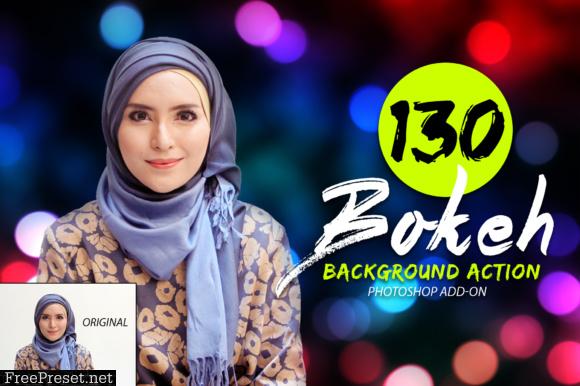 130 Bokeh Photoshop Action