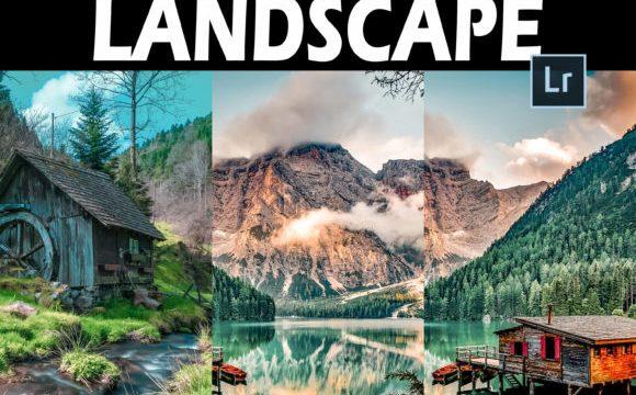 25 Landscape Lightroom Presets