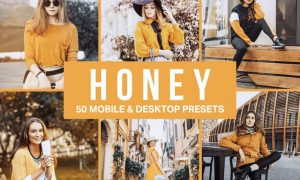 50 Honey Yellow Lightroom Presets and LUTs