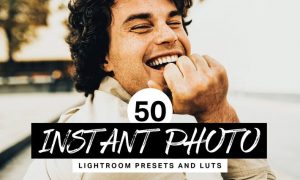 50 Instant Photo Lightroom Presets and LUTs