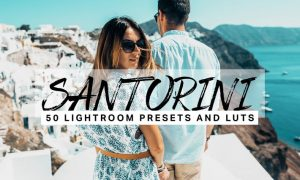 50 Santorini Lightroom Presets and LUTs