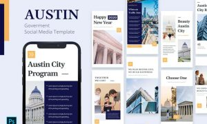 Austin - Government Instagram Story Template 7ZB5QEN